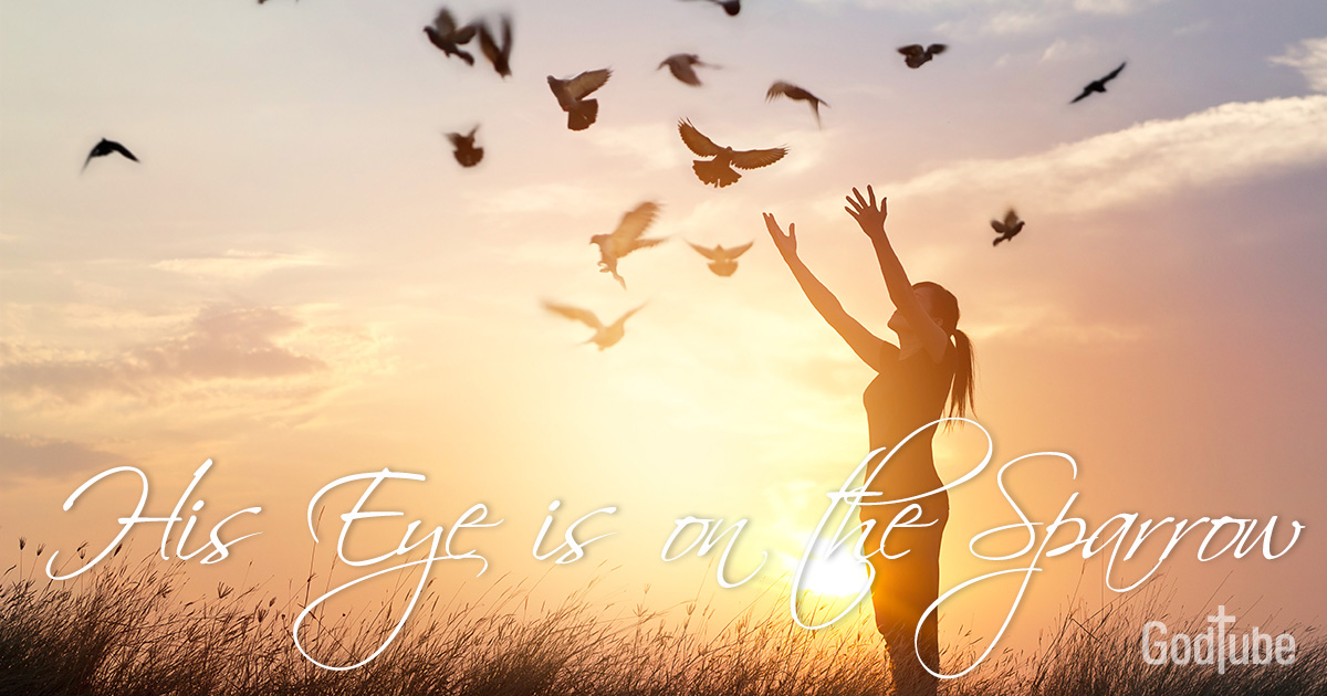 Lyric lyrics to family of god : His Eye is on the Sparrow - Lyrics, Hymn Meaning and Story